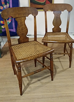 Pair of Maple Chairs